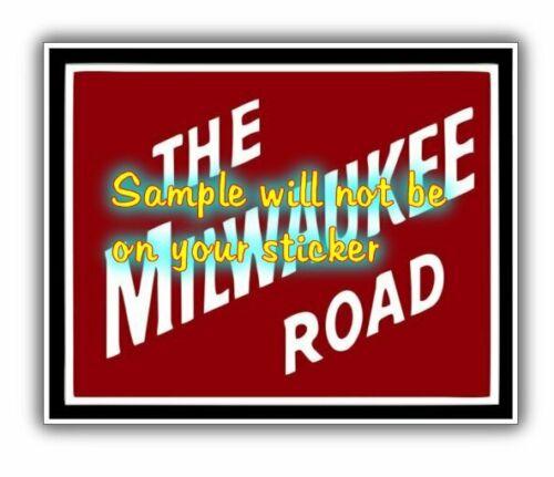 Milwaukee Road Railroad Heralds Logos Vinyl Decals Sign Stickers Layouts