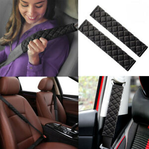 2x-Car-Safety-Seat-Belt-Harness-Shoulder-Strap-Backpack-Pad-Cushion-Cover-GO9X