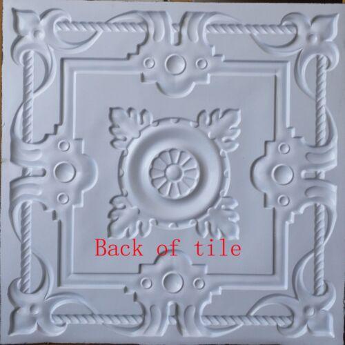 3D Ceiling tile faux tin distressed crack bar wall panels PL29 10pcs//lot