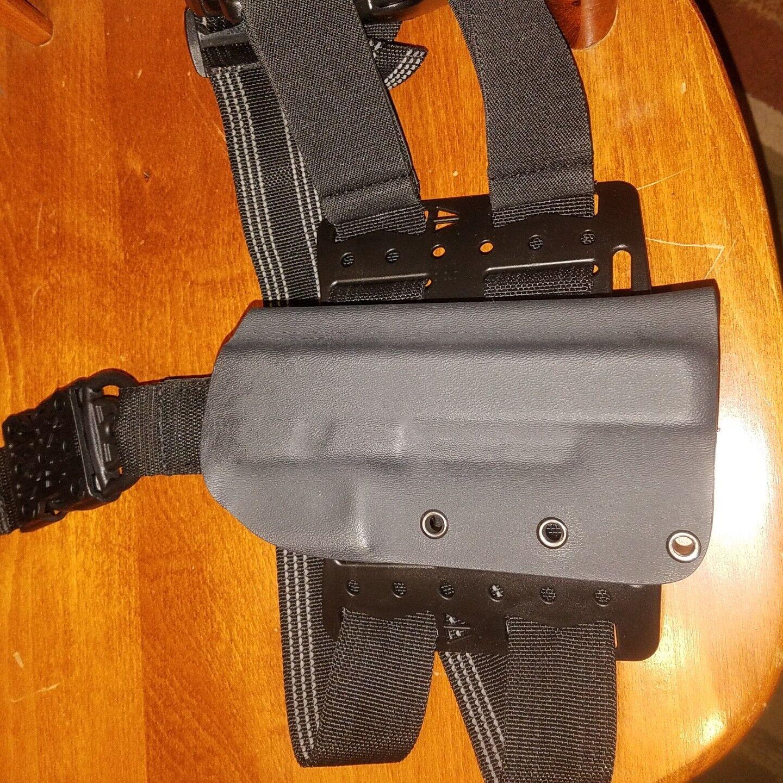 Plataforma de muslo para Glock g40 MOS