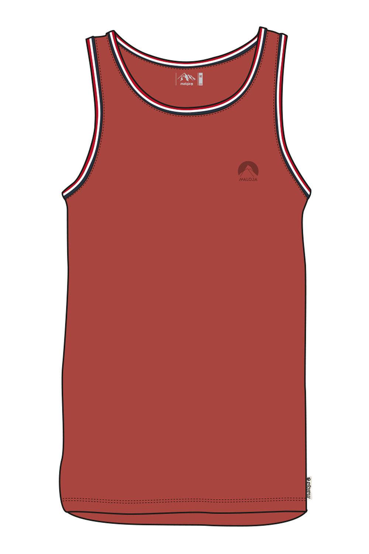 Maloja Multisportshirt Shirt Uorsm. red  Elastico Predezione UV Pianura  clearance up to 70%