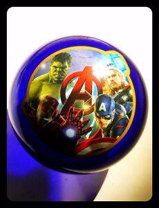 Palla-Avengers-Marvel-Diametro-8-5-cm-Hulk-Thor-Iron-Man-e-Capitan-America