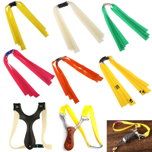 3x accessory catapult latex tape natural rubber flat elastic band forslingshot