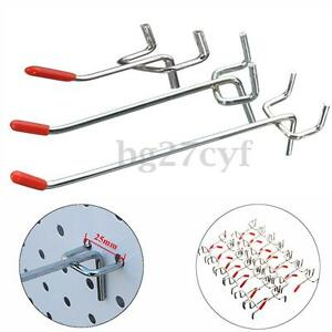 10-50x-Single-Pegboard-Hooks-Board-Slat-Wall-Retail-Display-Shop-Peg-Fits-25mm