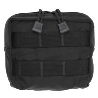 Tac Shield Compact Molle Gear Pouch Black Usa Made