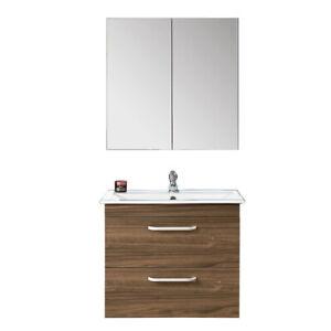 Badmobel Set 60 Cm Spiegelschrank Waschtisch Unterschrank