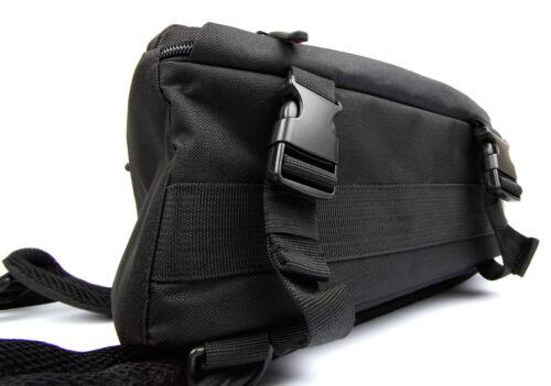 Large Black Action Camera Portable Rucksack//Bag for Easypix 20100 GoXtreme