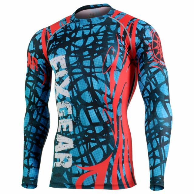 FIXGEAR CFL-H2 Compression Skin Tights Under Shirts MMA Workout Crossfit Yoga