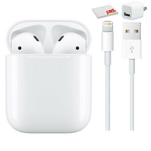 Apple AirPods with Charging Case (2nd Generation Bundle)
