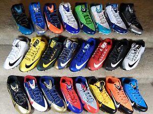 New-Mens-Nike-Alpha-Pro-amp-2-Low-amp-3-4-TD-amp-D-PF-NFL-Team-Color-Football-Cleats