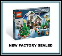 Lego 10199 Christmas Winter Village City Town Toy Shop Tree 7 Minifig Lot
