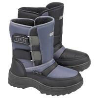 BOYS WINTER BOOTS GIRLS MOON WARM FUR THERMAL SNOW SKI APRES BOOTS SHOES SIZE