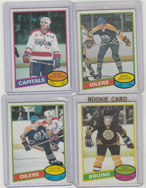 1980 81 OPC O Pee Chee Set 1-396 Mark Messier Ray Bourque Jim Craig RC Gretzky