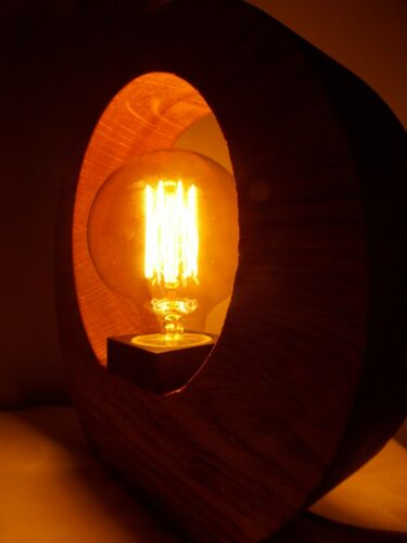 Wooden table night lamp Edison for nursery kids Retro Industrial Loft Home Decor