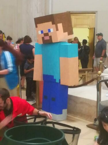 Minecraft Costume Steve Alex Creeper Mario and more Halloween mascot cosplay