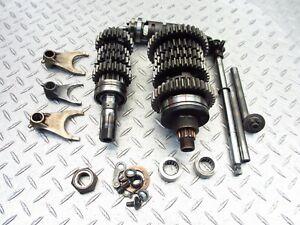 2000 00-03 Suzuki GSXR 750 GSXR750 Transmission Shift Shaft Gear Drum Rod OEM