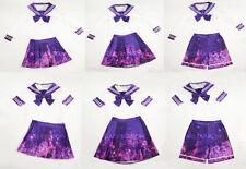 RARE CUTE Stars Rainbow Seifuku, japanese galaxy school uniform size S