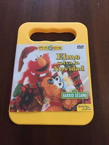 ELMO-SALVA-LA-NAVIDAD-1-DVD-CON-EXTRAS-50-MIN-MUY-RARO-DESCATALOGADO