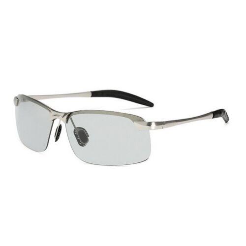 UK Unisex Photochromic Sunglasses UV400 Driving Transition Lens Driving Glasses