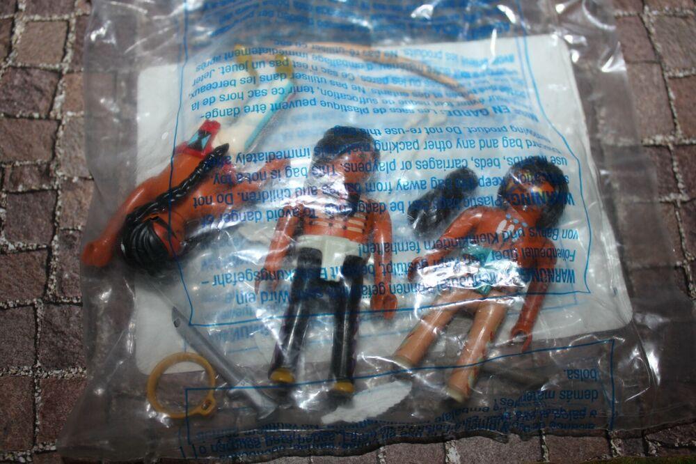 Playmobil Chevalier 6272 Indien 3er Set Neuf Emballage D'origine