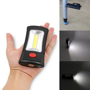 Portable-400-Lumen-COB-LED-Flashlight-Magnetic-Working-Camping-Light-Hook-Clip