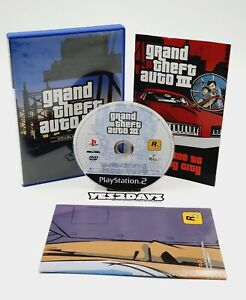 gRand theft auto III Sony PlayStation 2 Game ps2 Complete with Map, Manual GTA 3
