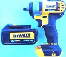 "New Dewalt 20V DCF883 Cordless 3/8"" Impact Wrench, (1) DCB200 Battery 20 Volt"