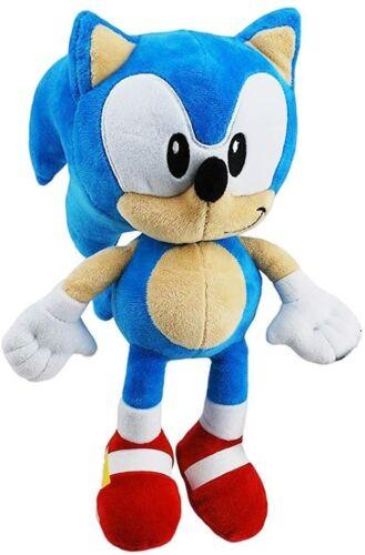 """Official Sonic The Hedgehog SEGA Sonic 12/"""" Grande Peluche Jouet Doux en Peluche Nouveau"""
