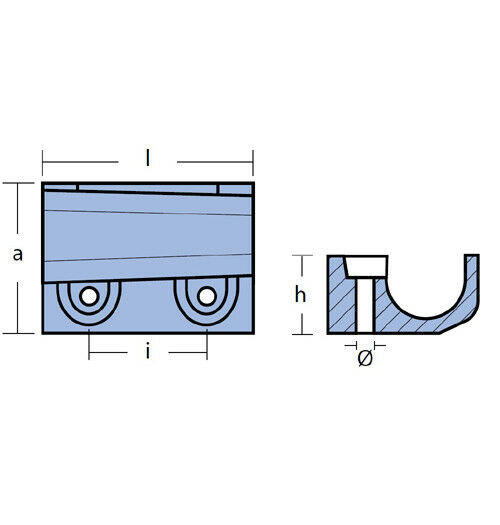 Anoden Anode Anodensatz Anodenkit Aluminium für Mercury F30 F40 F60 F 30 40 60