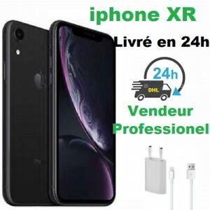 APPLE IPHONE XR 64go 64 go Noir GRIS SIDERAL RECONDITIONNE + Grades