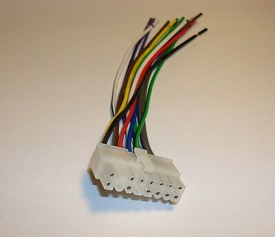 clarion 16 pin wire wiring harness drb4375 drx8175 cl6 ebay Ouku Th8581ga 16 Pin Wiring Harness