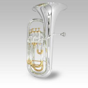 Schiller-Elite-IV-Inline-Euphonium-SilverGold