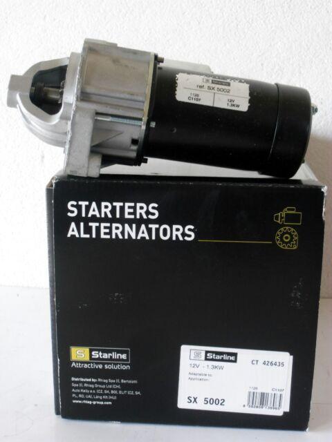 Motorino d/'avviamento  STARLINE SX5002 FIAT LANCIA