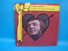 Johnny Carver Tie A Yellow Ribbon Around the Old  Oak Tree Lp Record Autographed