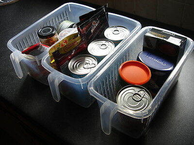 **REDUCED** Set of 3 Cupboard/Drawer Organisers - Ideal for craft/kitchen/garage