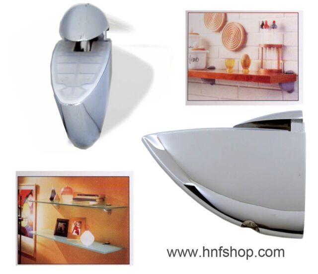2pcs//set Floating shelf support holder mounted on wall  for glass//wooden shelves