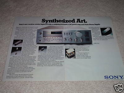 2 pgs,specs,article Sony STR-V55 Receiver Ad