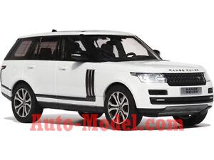 1 43 LCD Model 2017 Land Rover Range Rover Fuji White   eBay 488984d708