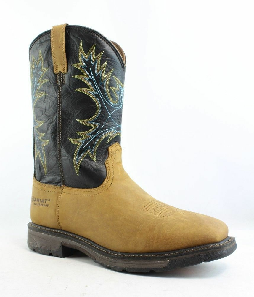 Ariat Workhog Imperméable Bottes-Taille Large 13