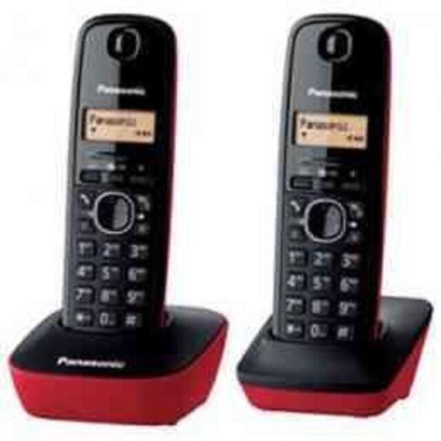 Panasonic KX-TG1612SPR - Kit 2 Phones Fixed Digital Wireless Duo