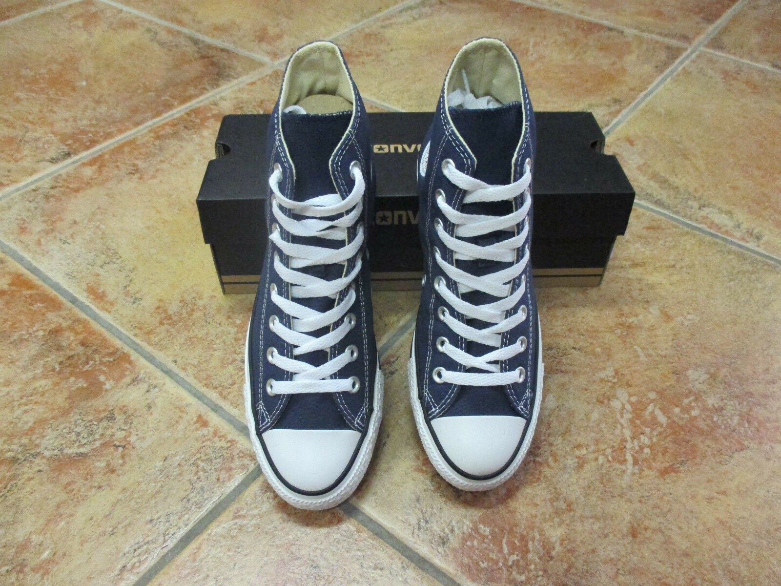 Converse Chucks All Star HI Gr.38 blau navy M9622 NEU Top