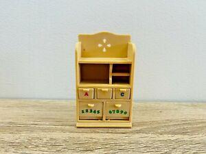 Sylvanian-Families-Children-039-s-Bedroom-Study-Dresser-Shelf-Desk-Unit