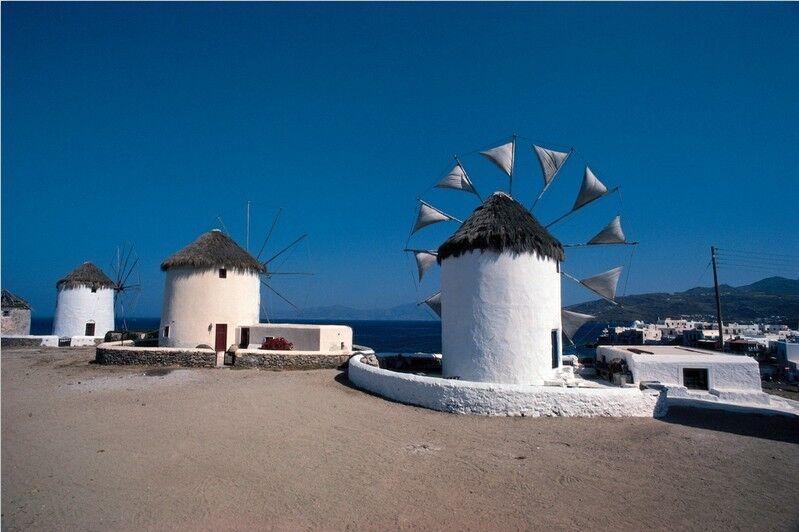 3D Seaside windmill 265 WallPaper Murals Wall Print Decal Wall Deco AJ WALLPAPER