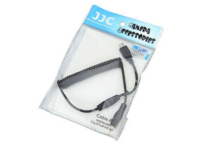JJC Cable-R Cable Adapter for FUJIFILM X-M1 X-E2 X-A1 XQ1 X100T X30 rep. RR-90