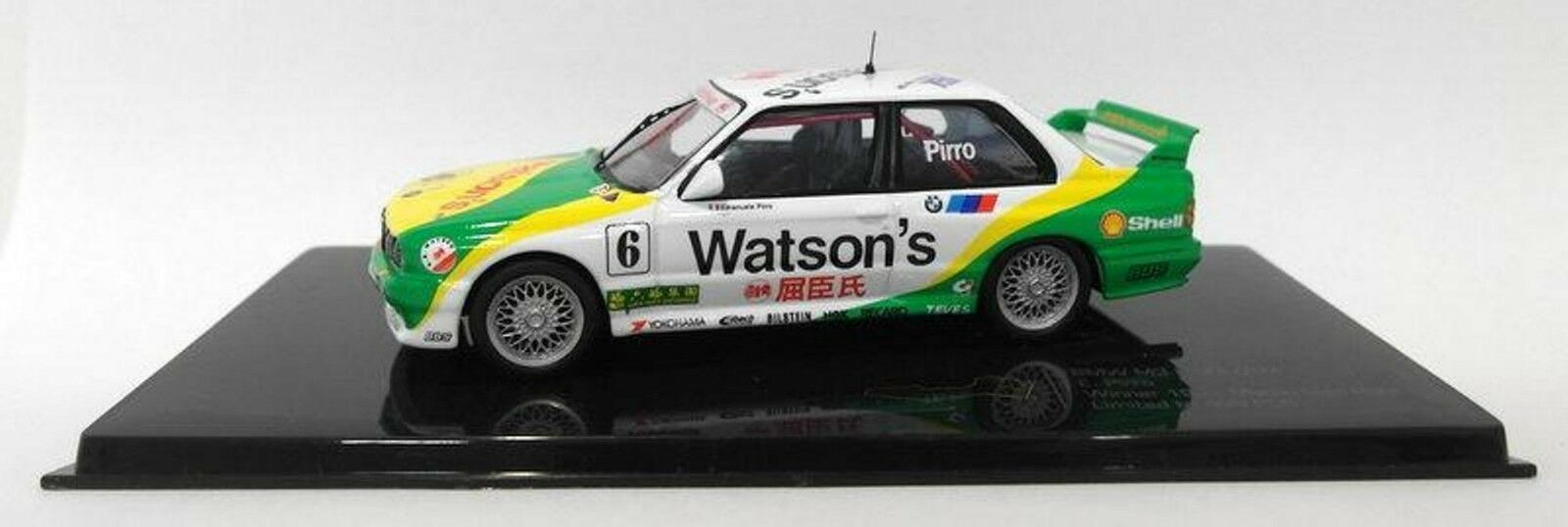BMW M3 E30  6 PIRRO DTM WINNER 1991 MACAU GUIA RACE IXO MGPC002 1 43 MACAO