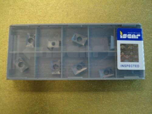 sealed pack ISCAR milling 10 pieces APKT 1003PDR-HM IC328 carbide inserts NEW