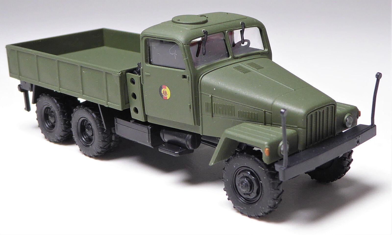 H0 bussCH IFA G 5 {65533;65533; 60 Stahlpritsche NVA DDR Armee Decals Lastkraft Wagen