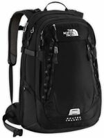 The North Face Router Transit Backpack Tsa Laptop Approved Black