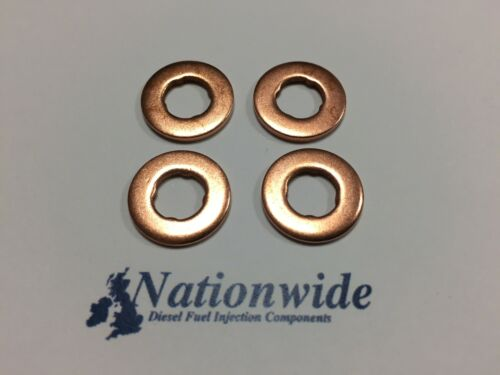 Ford S-MAX 2.0 TDCi Common Rail Diesel Injector Washers//Seals x 4