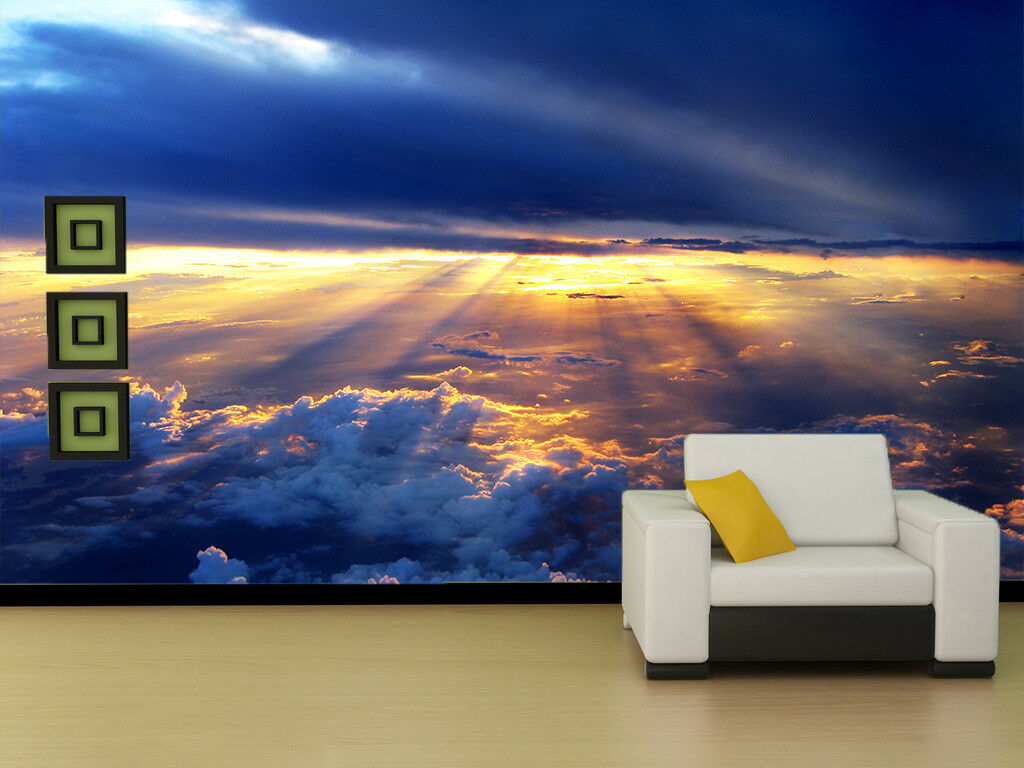 3D 3D 3D Dämmerung Wolken 942 Tapete Wandgemälde Tapete Tapeten Bild Familie DE Summer | Verrückte Preis  | Hohe Sicherheit  |  c88baa
